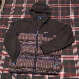 Patagonia Synchilla Zip up hooded zip up fleece